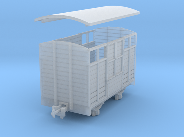 TTn3 cattle van type 1 3d printed