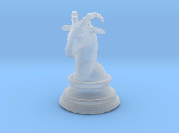 Chess piece – Ram as Bishop 3d printed