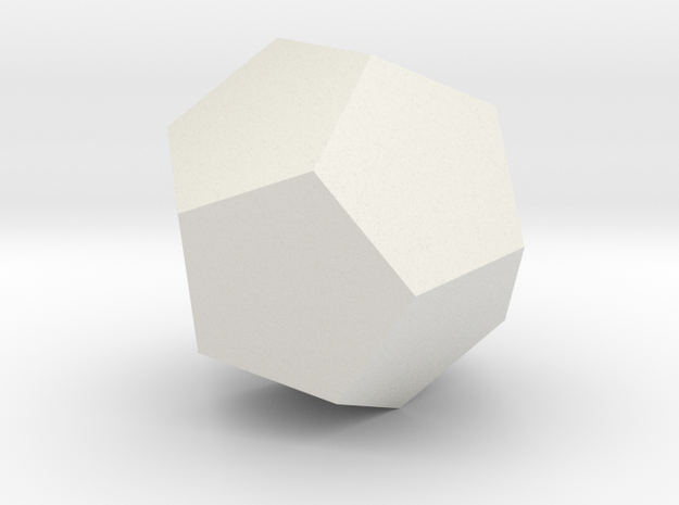 dodecahedron-l 3d printed