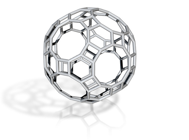GreatRhombicosidodecahedron 100mm 3d printed
