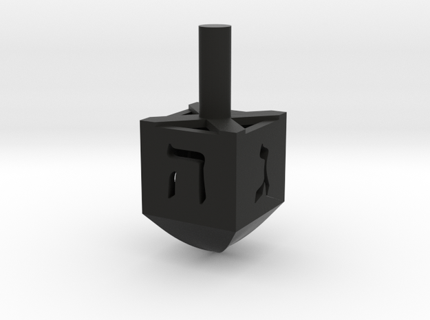 Simple Dreidel 3d printed