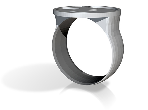 Private- ring logo 3d printed