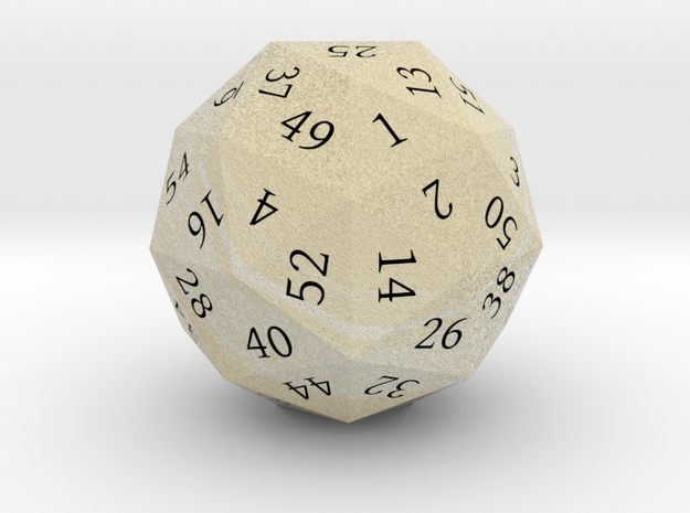 Vanilla Cream d60 3d printed
