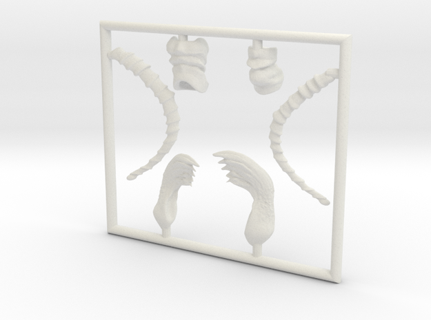 Ant small parts 3d printed