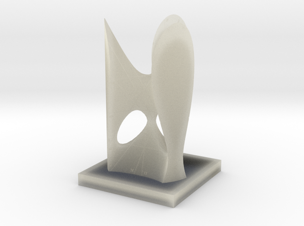 [01] Clebsch Diagonal Surface with Numbering 3d printed