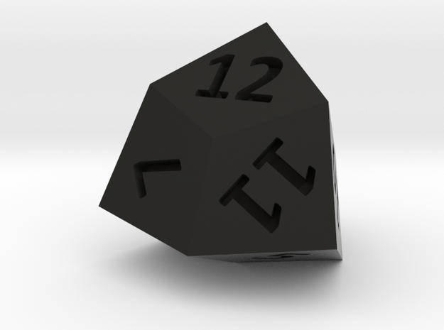 Trapezoidal Dodecahedron 3d printed