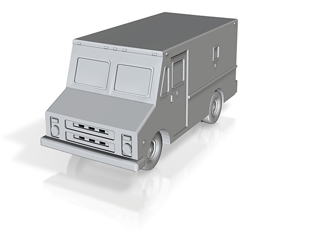 Armored Car - Z scale 3d printed