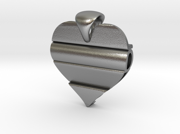 Secret Love Pendant 3d printed
