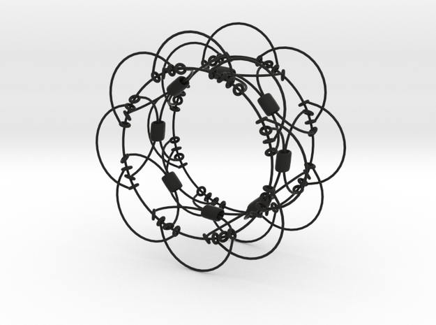 Wire Sphere (Small) 3d printed