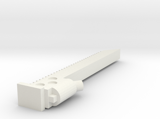 Chainsaw sword Mrk1 3d printed