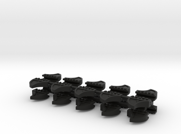 Wheel Stops HO 20 pack C83 3d printed