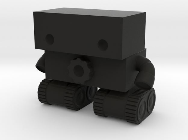 Robot 0025 Tank Tread Bot With Cog 3d printed