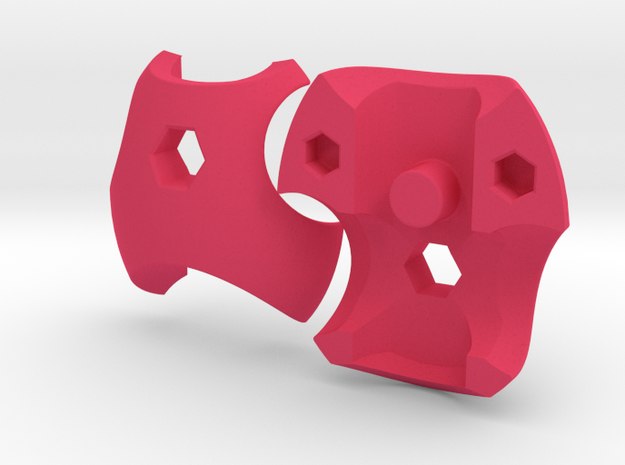 V3 Neo Chestplate Set 3d printed