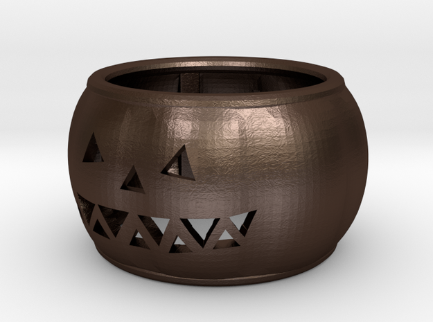 Pumpkin Ring 3d printed