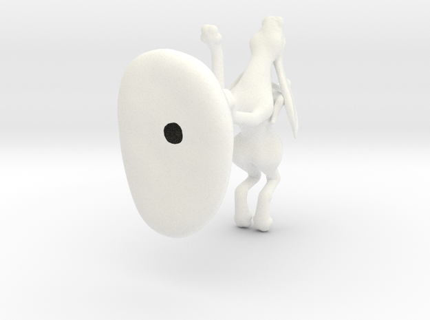 Hare Rider 3d printed