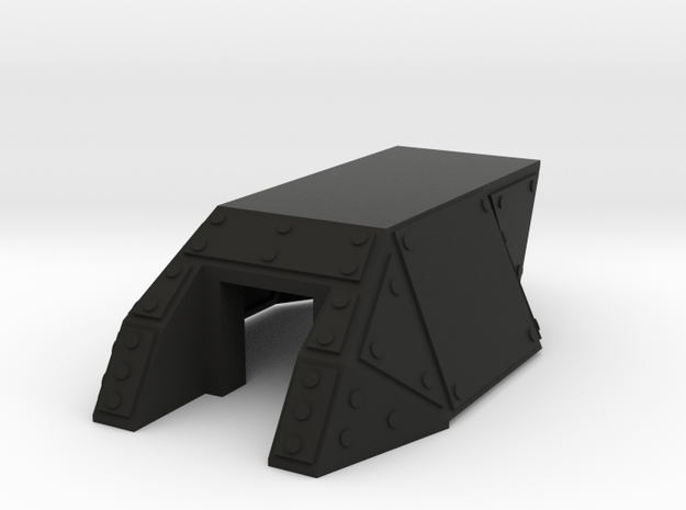 Full Turret with no hatch 3d printed