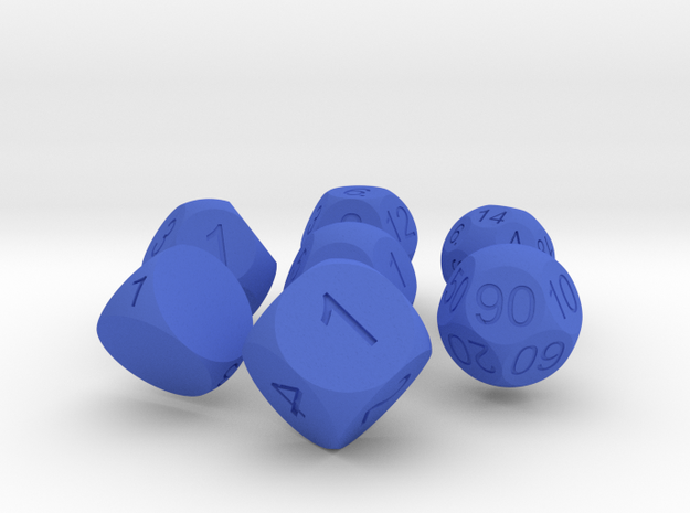 Sphere Dice Set 3d printed