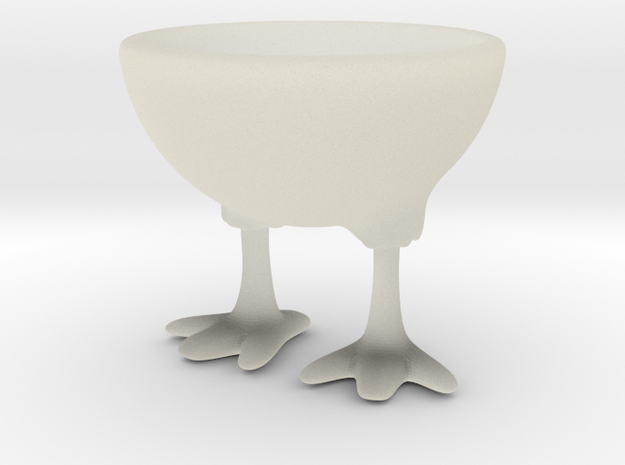 Feet Egg Cup 3d printed Sample render