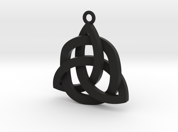 Holy Trinity Necklace 3d printed