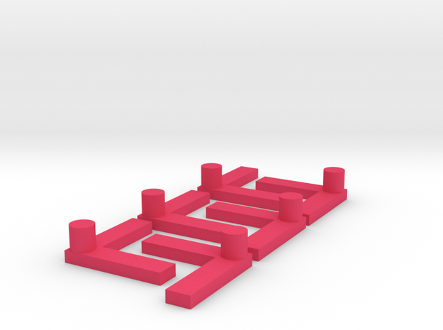 L-shaped peg for my son's maze game 3d printed