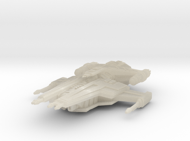 Firestar Heavy Carrier (Fleet Scale) 3d printed