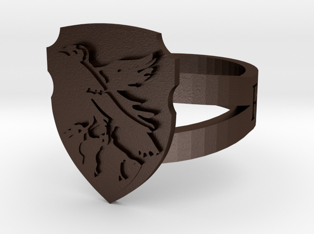 Ravenclaw Crest Ring 3d printed