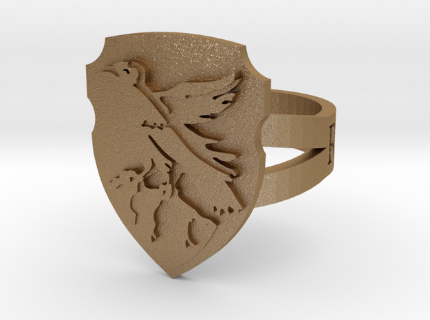 Ravenclaw Ring Size 4 3d printed