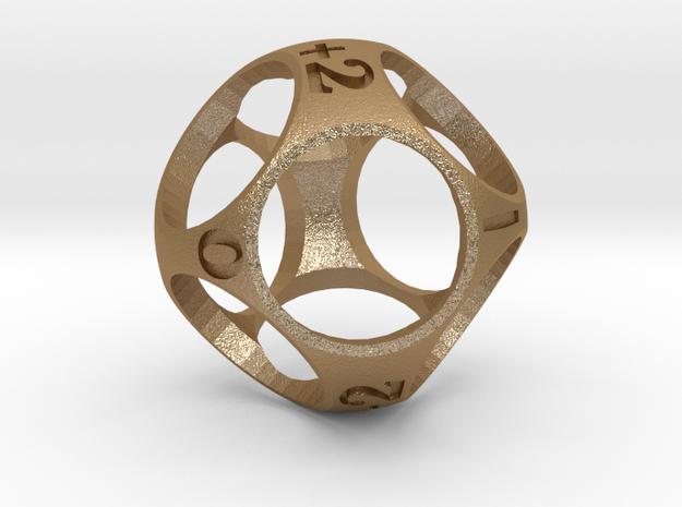 d9 - Two Fudge Dice in One! 3d printed