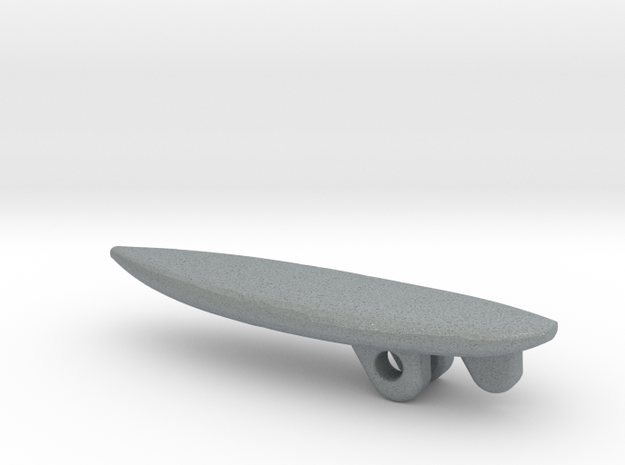Surfboard Pendant - Shortboard 3d printed