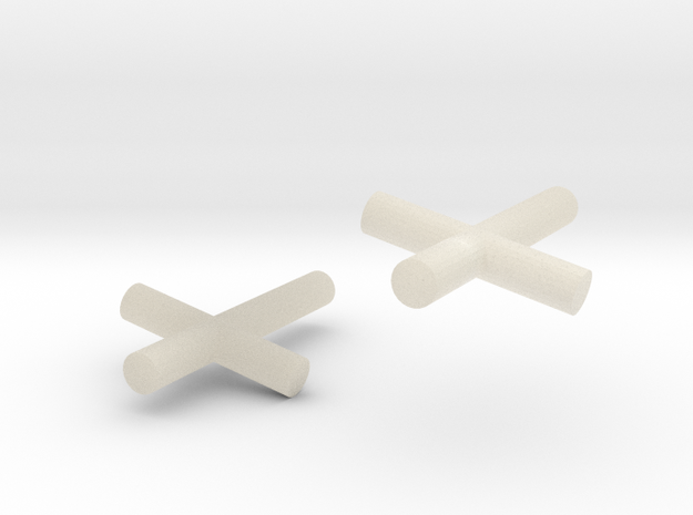 2 Crosses for Minifigs 3d printed