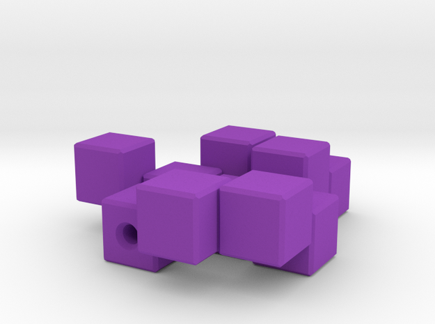 Three Piece Block 3d printed