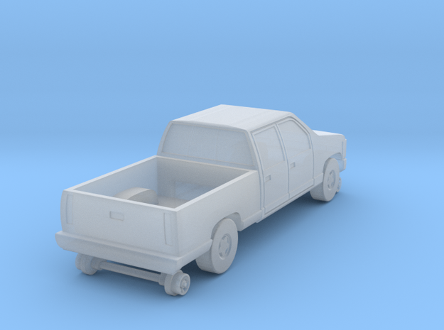 MOW Crew Cab Truck - Z Scale 3d printed