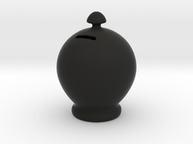 Classical Money Box 3d printed