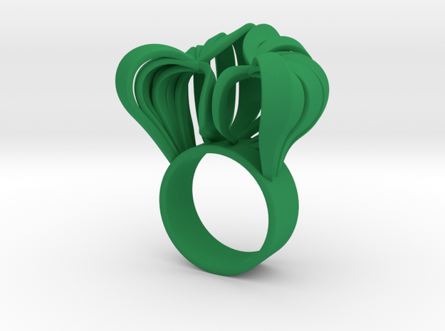 Pumpkin Ring Size 5 3d printed