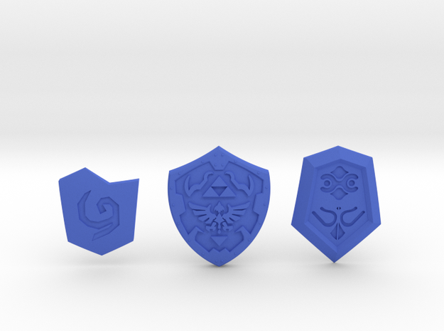 Shield Pack I 3d printed