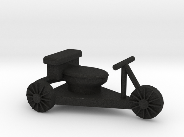 toilet racer cart - Hampdenfest! 3d printed photo of cart