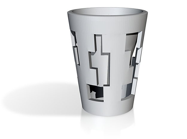 D-CUP: Revisited! 3d printed