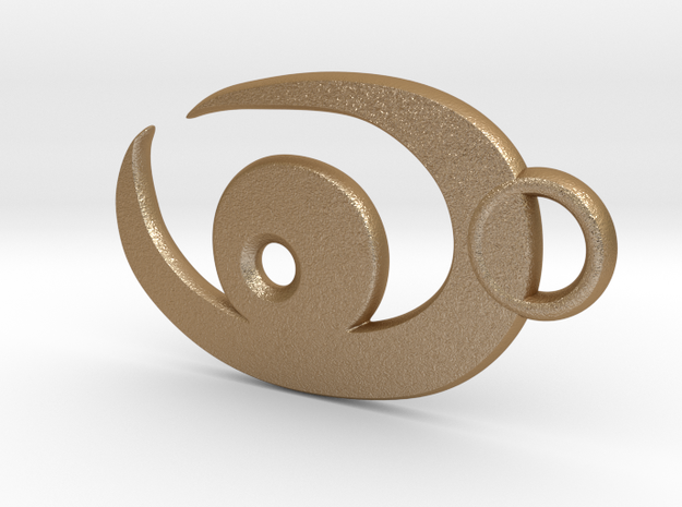 Stylized Eye || Vision Logo 3d printed