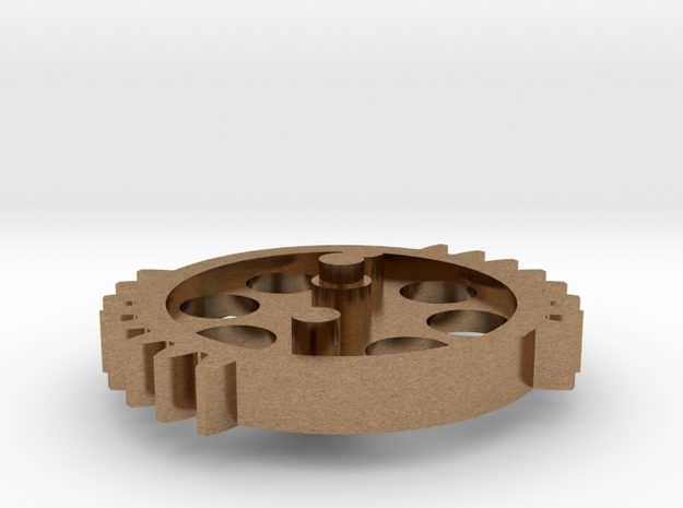 DSG - dual sector gear 2/3 scale keychain/necklace 3d printed