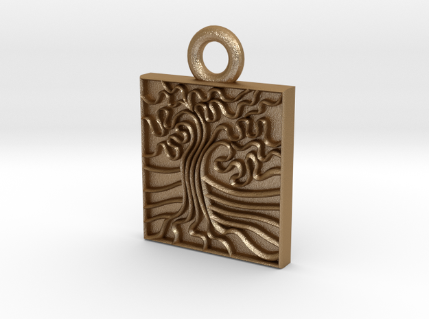Oak Stamp -25mm v1c Ring 3d printed