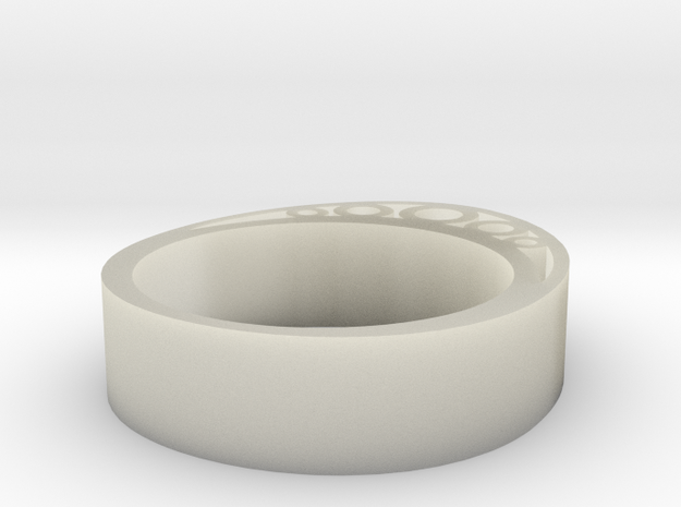 Secret Egg Ring (Large) 3d printed