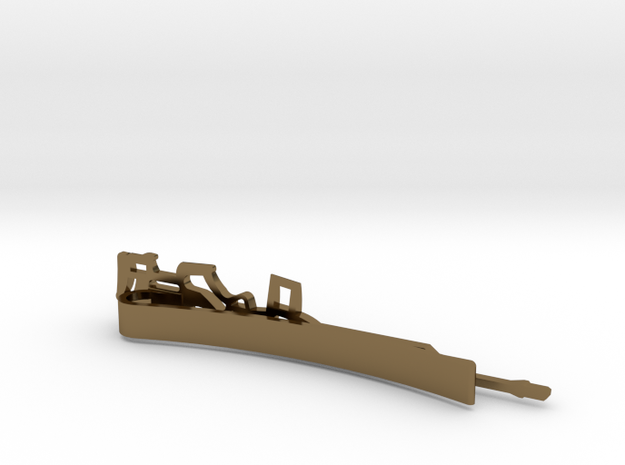M1A TACTICAL RIFLE MONEY/TIE CLIP 3d printed