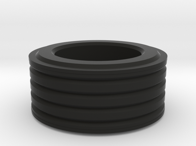 Grooved Ring (small) 3d printed