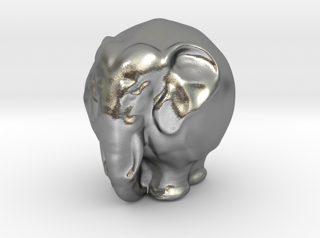 Kugelelephant 3d printed