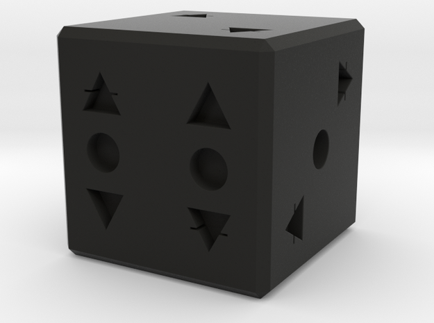 Die, d6 (Elemental Air 12mm) 3d printed