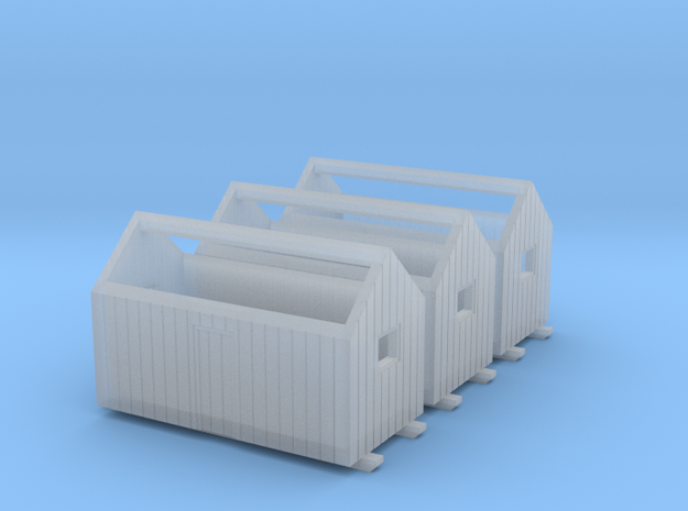 Z logging - Bunkhouses (3pcs) 3d printed