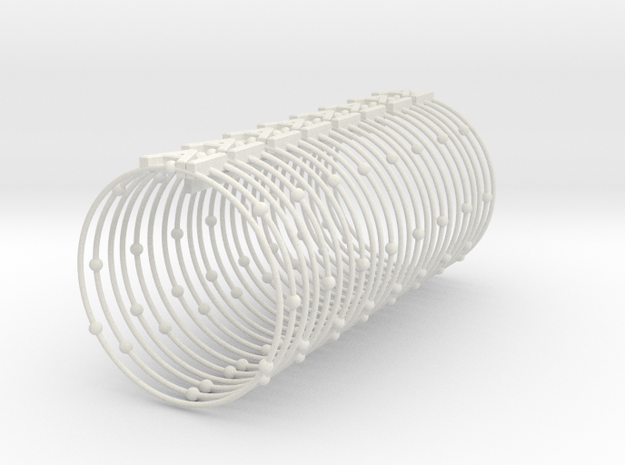 Aluminum Element Napkin Ring 3d printed
