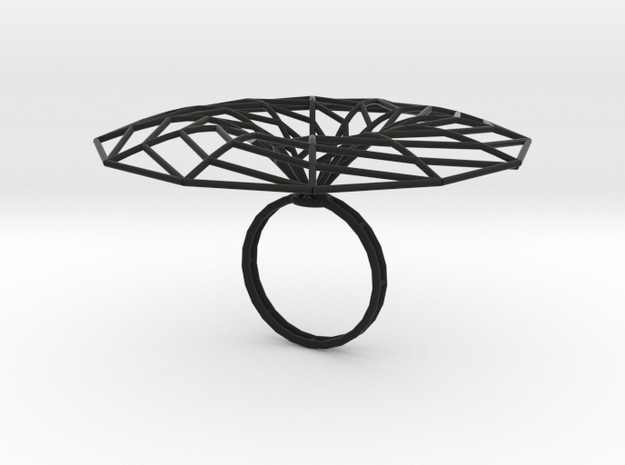 minimal surface catenoid 12 | ring P 3d printed