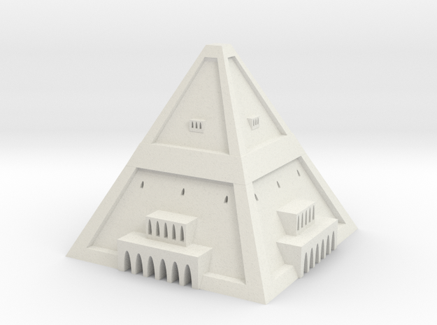 Powerful Jaban Esboo city center 3d printed