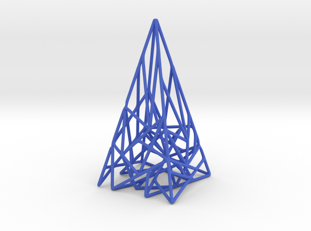 Triangulated Pyramid Pendant 3d printed
